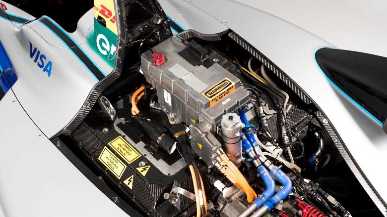 Formula-E-Motor-Inverter-Battery